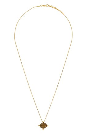 Женская кулон на цепочке HANKA_IN золотого цвета, арт. KYA-C0-LAB | Фото 1