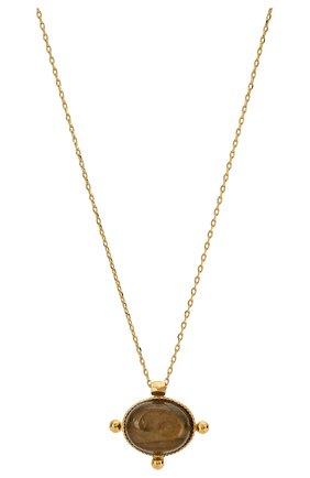 Женская кулон на цепочке HANKA_IN золотого цвета, арт. KYA-C0-LAB | Фото 2