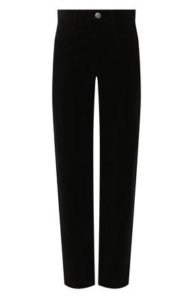 Женские хлопковые брюки ISABEL MARANT черного цвета, арт. PA1466-19H014I/DEB0RA | Фото 1