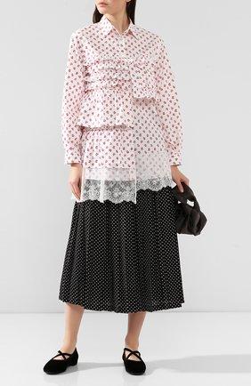 Блузка 4 Moncler Simone Rocha | Фото №2