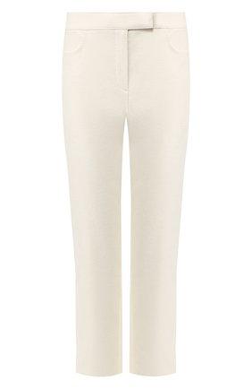 Женские хлопковые брюки THEORY белого цвета, арт. J0804215 | Фото 1