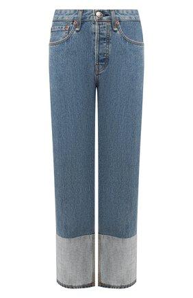 Женские джинсы RAG&BONE синего цвета, арт. WDD19F2645S6DR | Фото 1
