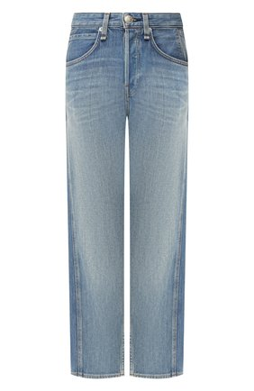 Женские джинсы RAG&BONE синего цвета, арт. WDD19F2660I9CS   Фото 1