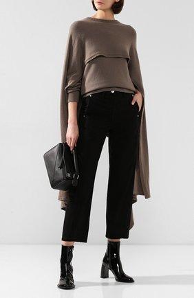 Женский кашемировый пуловер DEVEAUX NEW YORK бежевого цвета, арт. M192-707-LP1 | Фото 2