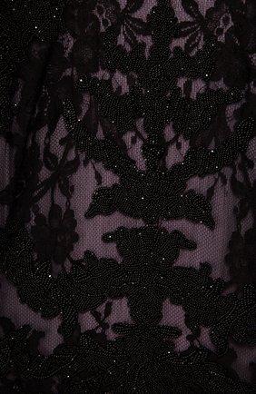 Женское платье-макси ALEXANDER MCQUEEN фиолетового цвета, арт. 393344/QFZ14 | Фото 2