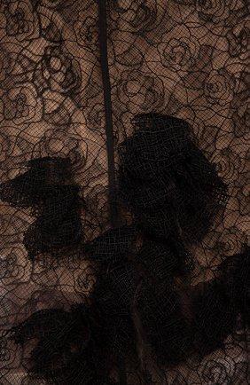 Женское платье-макси OSCAR DE LA RENTA черного цвета, арт. F15E073BLK | Фото 2