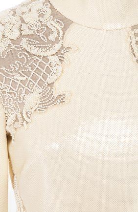 Женское платье ROBERTO CAVALLI белого цвета, арт. BWR114/JE035 | Фото 2