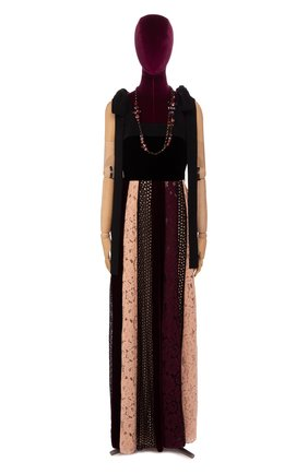 Женское платье LANVIN разноцветного цвета, арт. RW-DR2089-3229-A16 | Фото 1