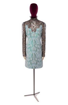Женское платье LANVIN голубого цвета, арт. RW-DR2121-3318-H16 | Фото 1