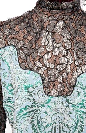 Женское платье LANVIN голубого цвета, арт. RW-DR2121-3318-H16 | Фото 2