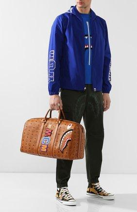 Дорожная сумка Bape x MCM   Фото №2