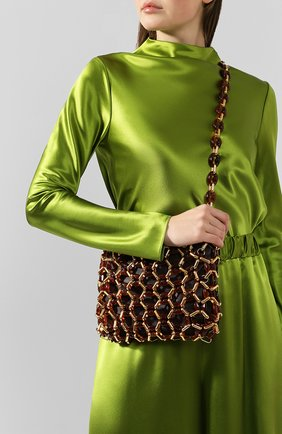 Женская сумка capria BY FAR коричневого цвета, арт. 19FWCAPSBRLMED   Фото 2