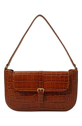 Женская сумка miranda BY FAR коричневого цвета, арт. 19FWMDASTNDMED   Фото 1