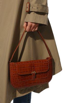 Женская сумка miranda BY FAR коричневого цвета, арт. 19FWMDASTNDMED   Фото 2