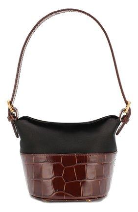 Женская сумка jamie BY FAR темно-коричневого цвета, арт. 19FWMIJANEDSMA   Фото 1