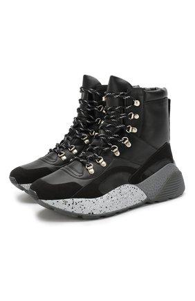 Женские ботинки STELLA MCCARTNEY черного цвета, арт. 580212/W1EBB | Фото 1