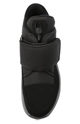 Женские текстильные ботинки JOG DOG черного цвета, арт. 1607R/DR_TU0N0SIGMA/W   Фото 5