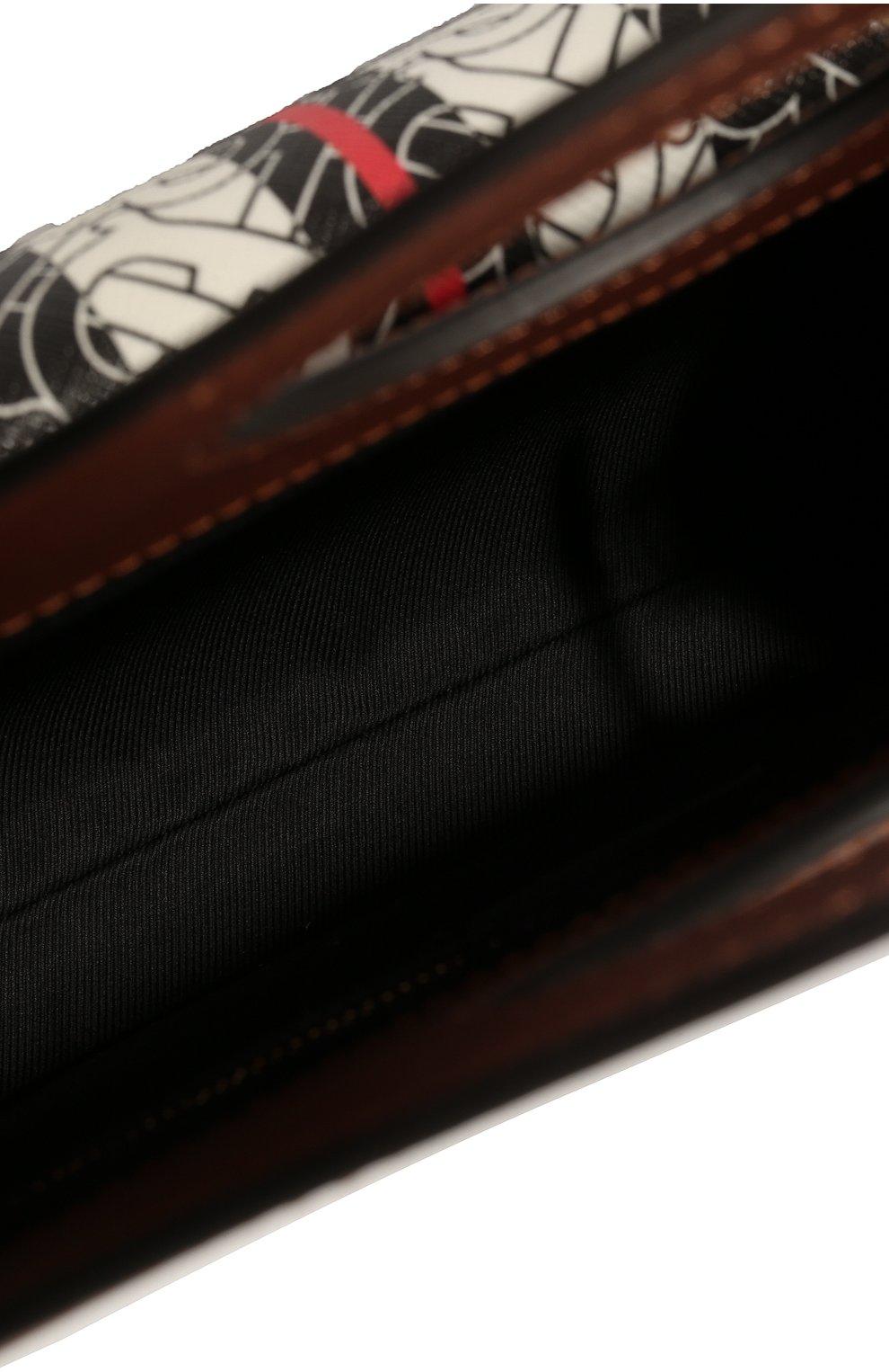 Женская сумка pocket mini BURBERRY коричневого цвета, арт. 8019365 | Фото 4