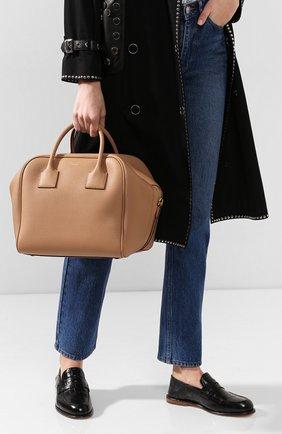Женская сумка cube medium BURBERRY бежевого цвета, арт. 8019363   Фото 2