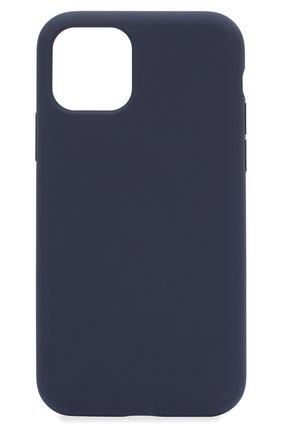Мужской чехол для iphone 11 pro  VIPE темно-синего цвета, арт. VPIP5819GUMDBLUE | Фото 1
