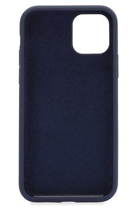 Мужской чехол для iphone 11 pro  VIPE темно-синего цвета, арт. VPIP5819GUMDBLUE | Фото 2
