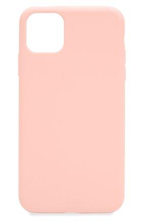 Мужской чехол для iphone 11 pro  VIPE розового цвета, арт. VPIP5819GUMPINK | Фото 1