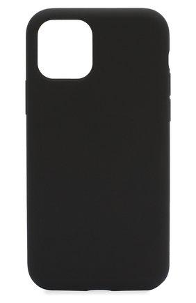 Мужской чехол для iphone 11 pro  VIPE черного цвета, арт. VPIP5819GUMBLK | Фото 1
