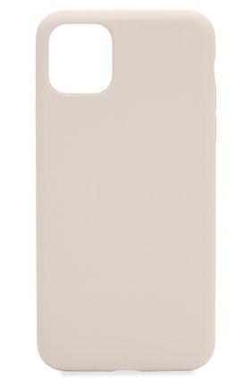 Мужской чехол для iphone 11 pro  VIPE бежевого цвета, арт. VPIP5819GUMIVORY | Фото 1