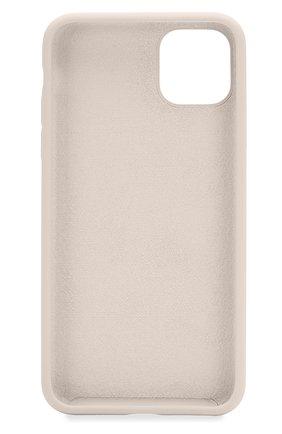 Мужской чехол для iphone 11 pro  VIPE бежевого цвета, арт. VPIP5819GUMIVORY | Фото 2