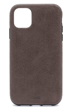 Мужской чехол для iphone 11 UNIQ серого цвета, арт. IP6.1HYB(2019)-SUVWGY | Фото 1