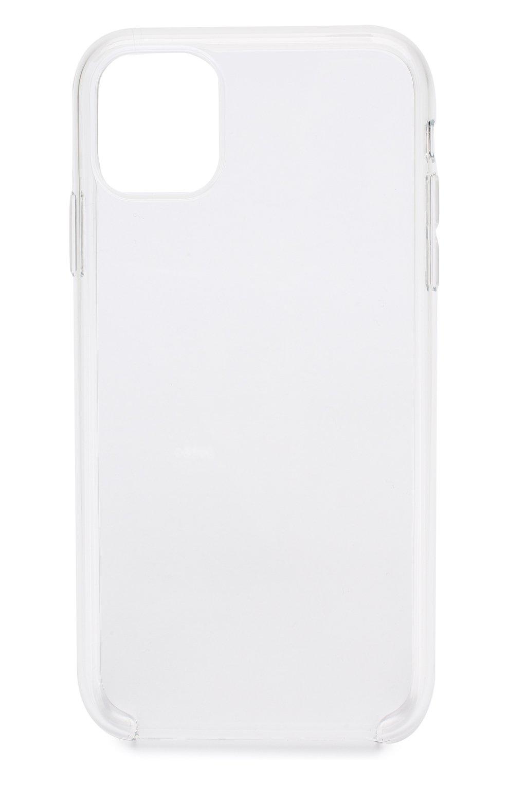 Мужской чехол для iphone 11 APPLE  прозрачного цвета, арт. MWVG2ZM/A | Фото 1