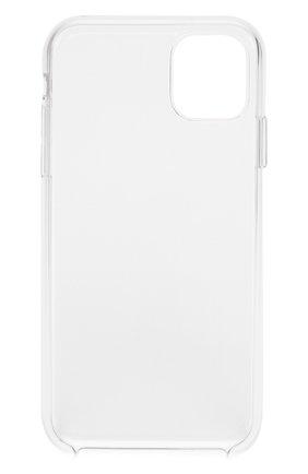 Мужской чехол для iphone 11 APPLE  прозрачного цвета, арт. MWVG2ZM/A | Фото 2