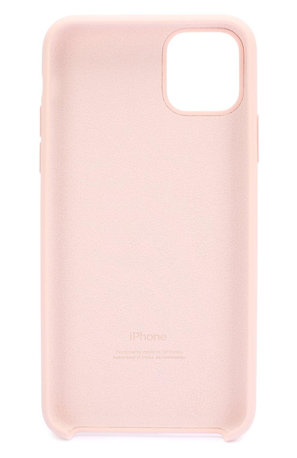 Чехол для iphone 11 pro max APPLE  розового цвета, арт. MWYY2ZM/A | Фото 2