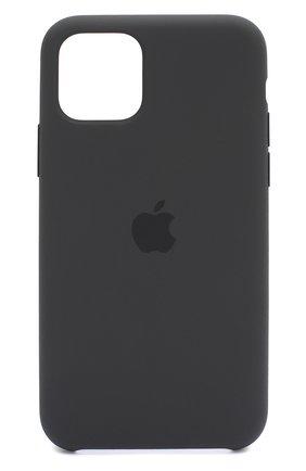 Мужской чехол для iphone 11 pro  APPLE  черного цвета, арт. MWYN2ZM/A | Фото 1