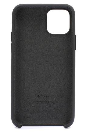Мужской чехол для iphone 11 pro  APPLE  черного цвета, арт. MWYN2ZM/A | Фото 2
