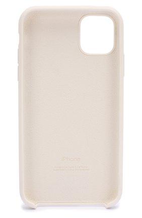 Мужской чехол для iphone 11 APPLE  белого цвета, арт. MWVX2ZM/A | Фото 2