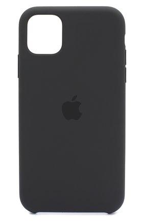 Мужской чехол для iphone 11 APPLE  черного цвета, арт. MWVU2ZM/A | Фото 1
