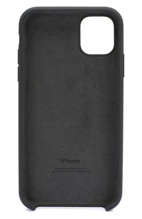 Мужской чехол для iphone 11 APPLE  черного цвета, арт. MWVU2ZM/A | Фото 2
