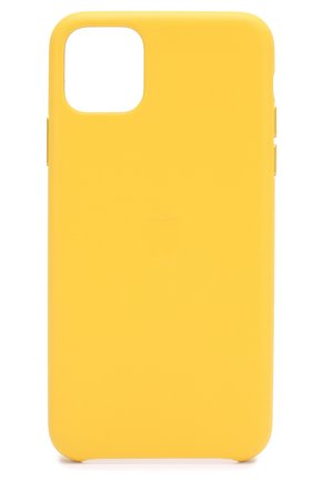 Мужской чехол для iphone 11 pro max APPLE  желтого цвета, арт. MX0A2ZM/A | Фото 1