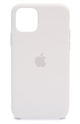Мужской чехол для iphone 11 pro  APPLE  белого цвета, арт. MWYL2ZM/A | Фото 1