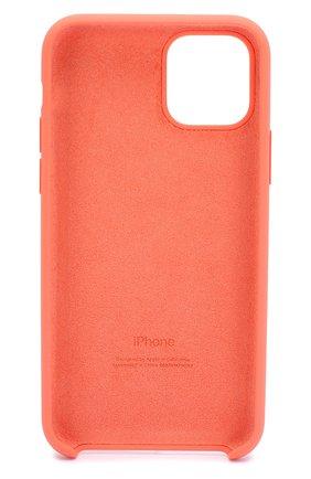 Мужской чехол для iphone 11 pro  APPLE оранжевого цвета, арт. MWYQ2ZM/A | Фото 2