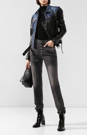 Женские джинсы ZADIG&VOLTAIRE серого цвета, арт. WHCB3003F | Фото 2