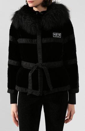 Куртка с поясом | Фото №3