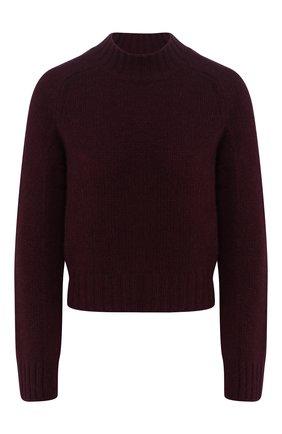 Женская кашемировый свитер VINCE бордового цвета, арт. V613678261 | Фото 1