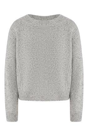 Женская кашемировый свитер VINCE светло-серого цвета, арт. V613978267 | Фото 1