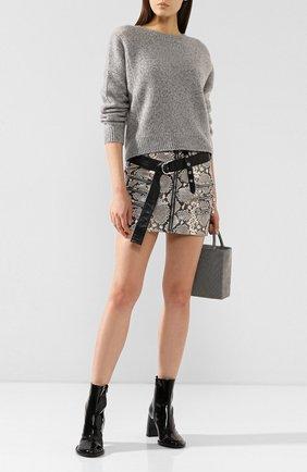 Женская кашемировый свитер VINCE светло-серого цвета, арт. V613978267 | Фото 2
