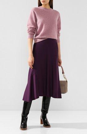 Женский свитер VINCE розового цвета, арт. V614178271 | Фото 2