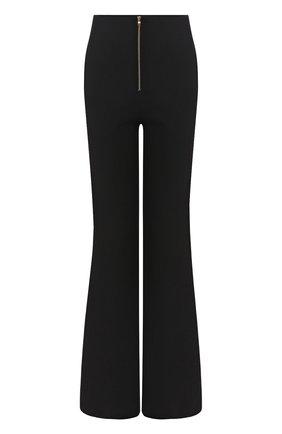 Женские шерстяные брюки BRANDON MAXWELL черного цвета, арт. PT114FW19 | Фото 1
