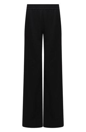 Женские шерстяные брюки BRANDON MAXWELL черного цвета, арт. PT121FW19 | Фото 1