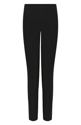 Женские шерстяные брюки BRANDON MAXWELL черного цвета, арт. PT20FW19 | Фото 1